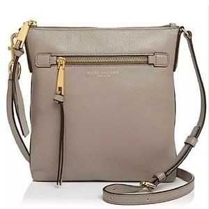 New Marc Jacobs North South Mink Crossbody Bag